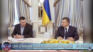 Yanukovitch en de ultra-rechtse (Nazi) oppositie sluiten een overeenkomst, maar later wordt Yanukovitch alsnog met geweld afgezet door de ultra-rechtse / Nazi groeperingen tijdens de zogenaamde Euromaidan (de ultra-rechtsen en Nazis eisen dat Oekraiene onderdeel wordt van de E.U.).